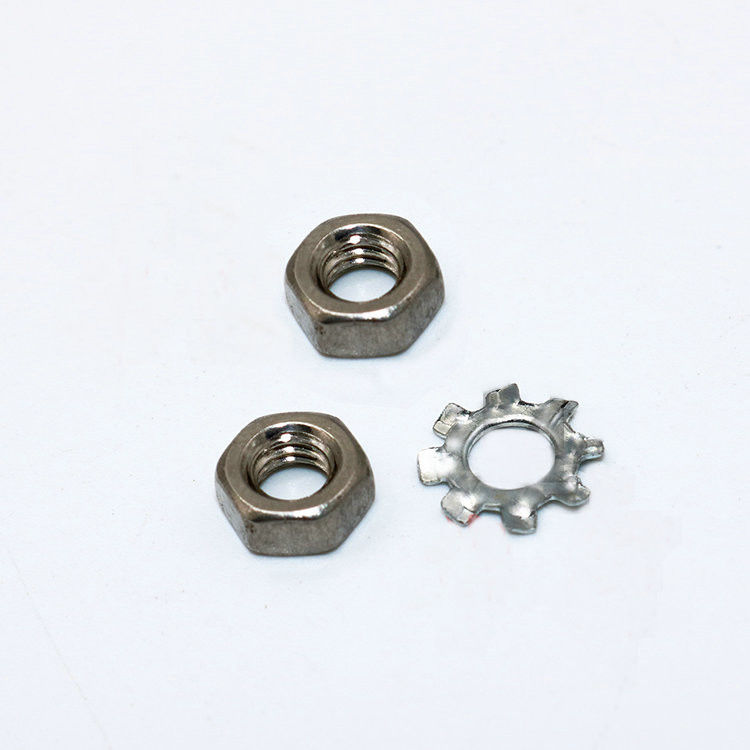 SMN 8MM-72MM Feeder Parts J1301304 M4-NUT-3 J6044400050 M4-TEETH-WASHER